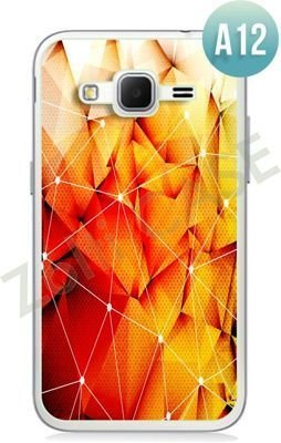 Etui Zolti Ultra Slim Case - Samsung Galaxy Core Prime - Abstract - Wzór A12
