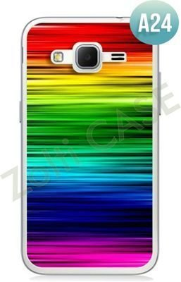 Etui Zolti Ultra Slim Case - Samsung Galaxy Core Prime - Abstract - Wzór A24