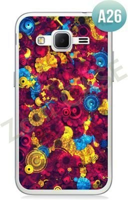 Etui Zolti Ultra Slim Case - Samsung Galaxy Core Prime - Abstract - Wzór A26