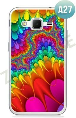 Etui Zolti Ultra Slim Case - Samsung Galaxy Core Prime - Abstract - Wzór A27