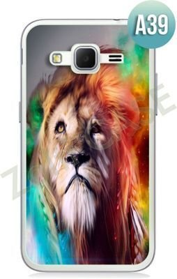 Etui Zolti Ultra Slim Case - Samsung Galaxy Core Prime - Abstract - Wzór A39