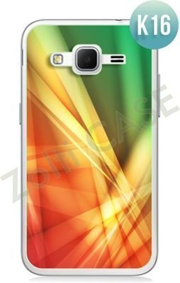 Etui Zolti Ultra Slim Case - Samsung Galaxy Core Prime - Colorfull - Wzór K16