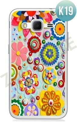 Etui Zolti Ultra Slim Case - Samsung Galaxy Core Prime - Colorfull - Wzór K19
