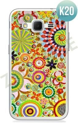 Etui Zolti Ultra Slim Case - Samsung Galaxy Core Prime - Colorfull - Wzór K20