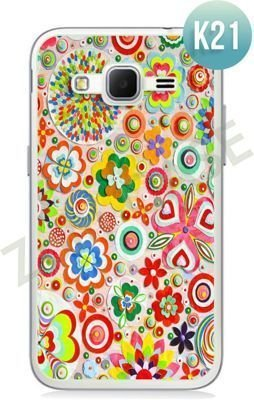 Etui Zolti Ultra Slim Case - Samsung Galaxy Core Prime - Colorfull - Wzór K21