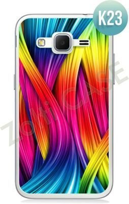 Etui Zolti Ultra Slim Case - Samsung Galaxy Core Prime - Colorfull - Wzór K23