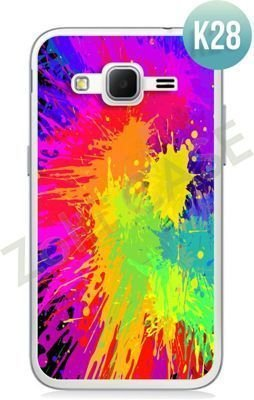 Etui Zolti Ultra Slim Case - Samsung Galaxy Core Prime - Colorfull - Wzór K28