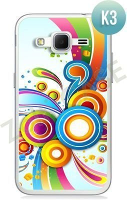 Etui Zolti Ultra Slim Case - Samsung Galaxy Core Prime - Colorfull - Wzór K3