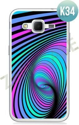 Etui Zolti Ultra Slim Case - Samsung Galaxy Core Prime - Colorfull - Wzór K34