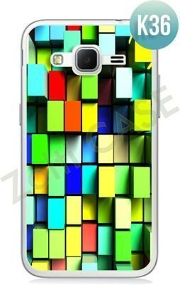 Etui Zolti Ultra Slim Case - Samsung Galaxy Core Prime - Colorfull - Wzór K36