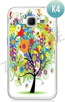Etui Zolti Ultra Slim Case - Samsung Galaxy Core Prime - Colorfull - Wzór K4