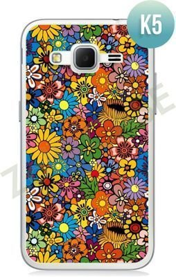 Etui Zolti Ultra Slim Case - Samsung Galaxy Core Prime - Colorfull - Wzór K5