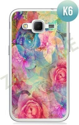 Etui Zolti Ultra Slim Case - Samsung Galaxy Core Prime - Colorfull - Wzór K6