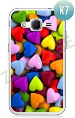 Etui Zolti Ultra Slim Case - Samsung Galaxy Core Prime - Colorfull - Wzór K7
