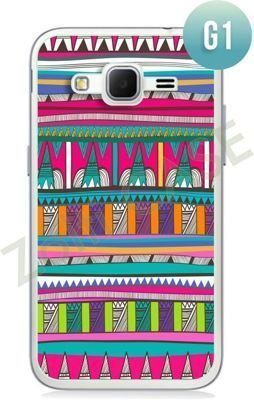 Etui Zolti Ultra Slim Case - Samsung Galaxy Core Prime - Girls Stuff - Wzór G1