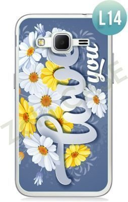 Etui Zolti Ultra Slim Case - Samsung Galaxy Core Prime - Romantic - Wzór L14