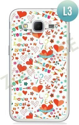 Etui Zolti Ultra Slim Case - Samsung Galaxy Core Prime - Romantic - Wzór L3