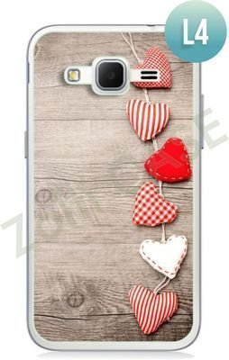 Etui Zolti Ultra Slim Case - Samsung Galaxy Core Prime - Romantic - Wzór L4