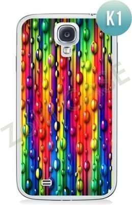Etui Zolti Ultra Slim Case - Samsung Galaxy S4 - Colorfull - Wzór K1