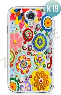 Etui Zolti Ultra Slim Case - Samsung Galaxy S4 - Colorfull - Wzór K19