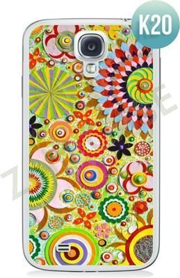Etui Zolti Ultra Slim Case - Samsung Galaxy S4 - Colorfull - Wzór K20