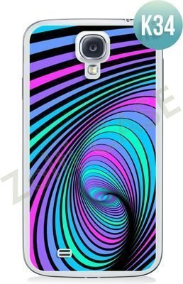 Etui Zolti Ultra Slim Case - Samsung Galaxy S4 - Colorfull - Wzór K34