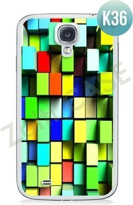 Etui Zolti Ultra Slim Case - Samsung Galaxy S4 - Colorfull - Wzór K36