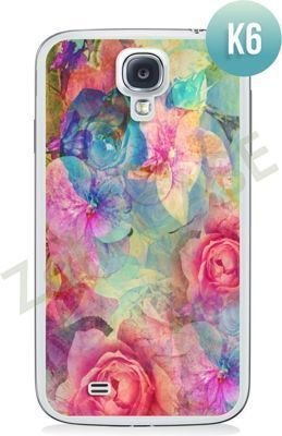 Etui Zolti Ultra Slim Case - Samsung Galaxy S4 - Colorfull - Wzór K6