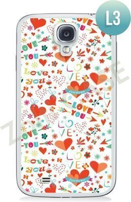 Etui Zolti Ultra Slim Case - Samsung Galaxy S4 - Romantic - Wzór L3