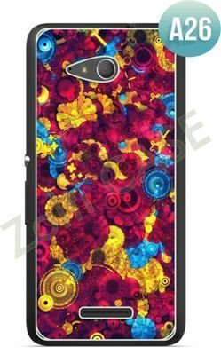 Etui Zolti Ultra Slim Case - Sony Xperia E4g - Abstract - Wzór A26