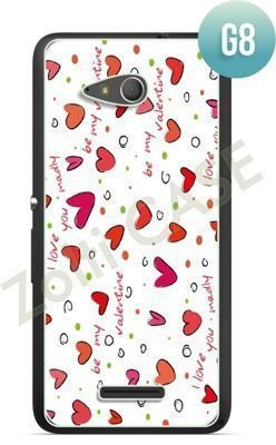 Etui Zolti Ultra Slim Case - Sony Xperia E4g - Girls Stuff - Wzór G8
