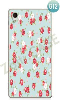 Etui Zolti Ultra Slim Case - Sony Xperia M4 Aqua - Girls Stuff - Wzór G12