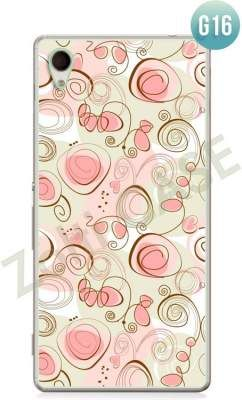 Etui Zolti Ultra Slim Case - Sony Xperia M4 Aqua - Girls Stuff - Wzór G16