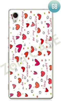 Etui Zolti Ultra Slim Case - Sony Xperia M4 Aqua - Girls Stuff - Wzór G8