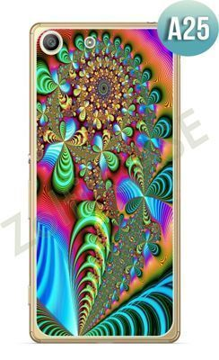 Etui Zolti Ultra Slim Case - Sony Xperia M5 - Abstract - Wzór A25