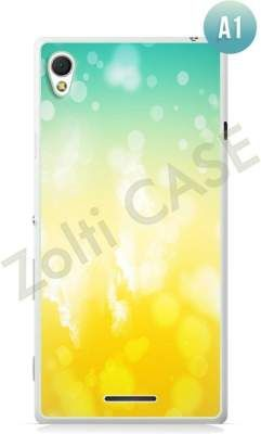 Etui Zolti Ultra Slim Case - Sony Xperia T3 - Abstract - Wzór A1