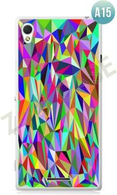 Etui Zolti Ultra Slim Case - Sony Xperia T3 - Abstract - Wzór A15