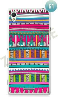 Etui Zolti Ultra Slim Case - Sony Xperia T3 - Girls Stuff - Wzór G1