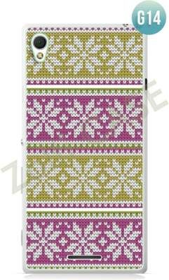 Etui Zolti Ultra Slim Case - Sony Xperia T3 - Girls Stuff - Wzór G14