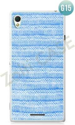Etui Zolti Ultra Slim Case - Sony Xperia T3 - Girls Stuff - Wzór G15
