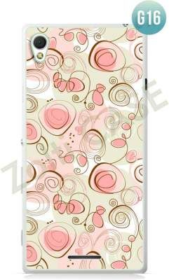 Etui Zolti Ultra Slim Case - Sony Xperia T3 - Girls Stuff - Wzór G16