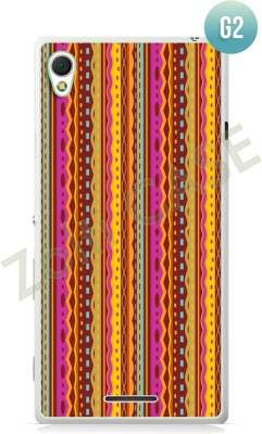 Etui Zolti Ultra Slim Case - Sony Xperia T3 - Girls Stuff - Wzór G2
