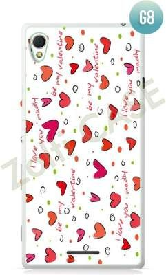 Etui Zolti Ultra Slim Case - Sony Xperia T3 - Girls Stuff - Wzór G8
