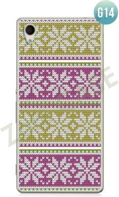 Etui Zolti Ultra Slim Case - Sony Xperia Z5 - Girls Stuff - Wzór G14