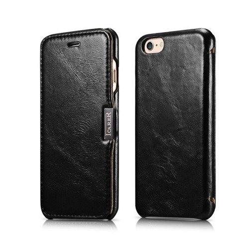 Etui iCarer Side Open Series Apple iPhone 6 / 6S Czarne