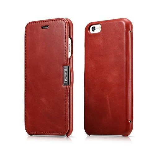 Etui iCarer Side Open Vintage Red | Apple iPhone 6 / 6S