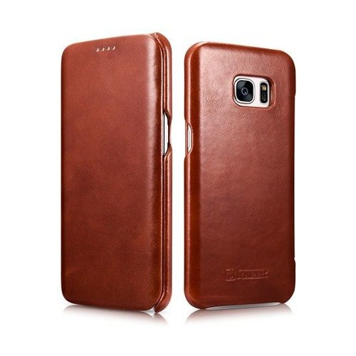 Etui iCarer Vintage Brown | Samsung Galaxy S7 Edge