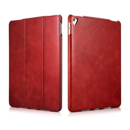 Etui iCarer Vintage Red | Apple iPad Pro 9.7