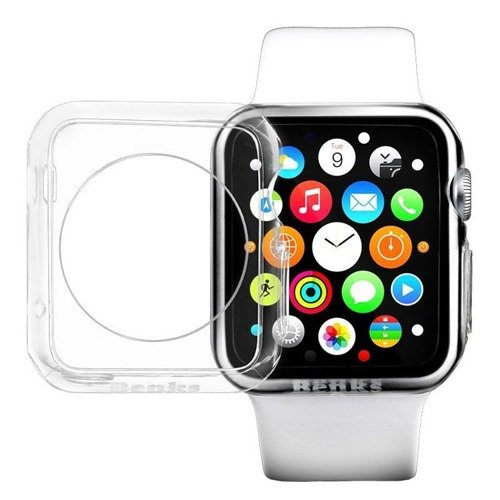 Etui ochronne Benks Magic Crystal 0.6 mm Apple Watch 42 mm