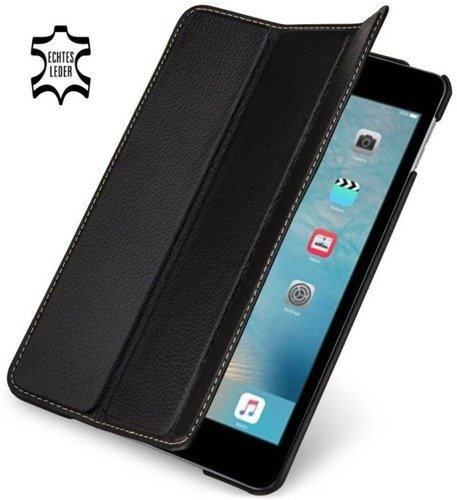 Etui skórzane Stilgut Couverture Apple iPad Mini 4 Czarne